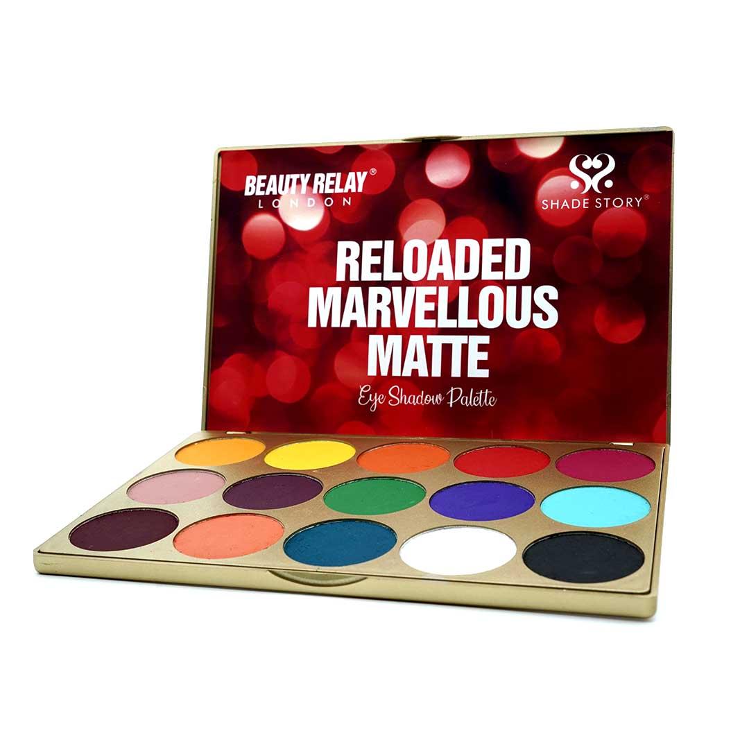 Shade Story Reloaded Marvellous Matte Eye Shadow Palette